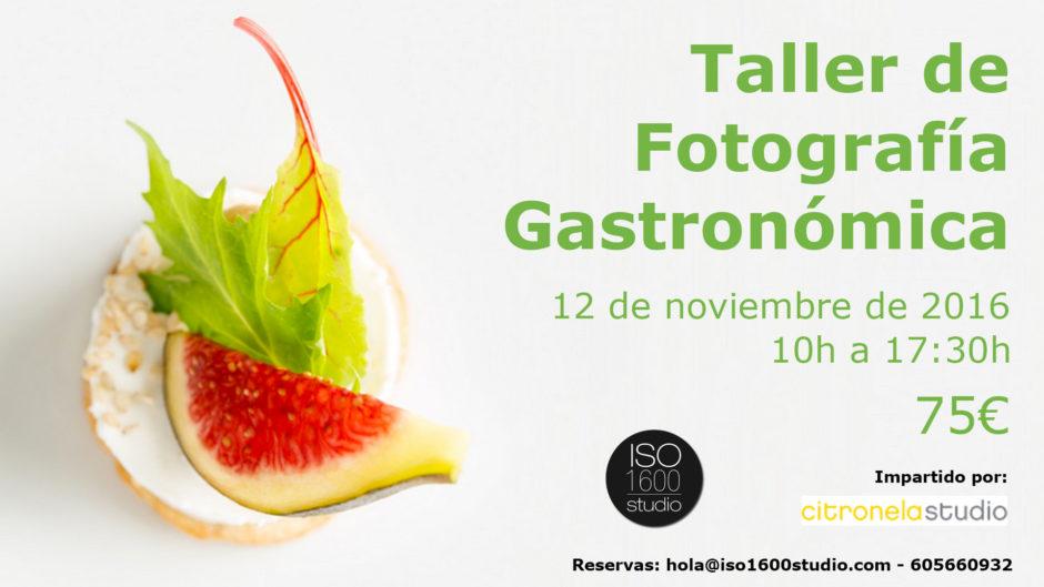 Curso Fotografia Gastronomica Mataró